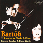 Bartok - Sonatas for Violin & Piano